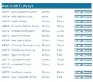ClickPerks Surveys