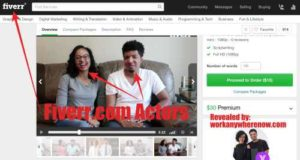 Clone My System Fake Actors on Fiverr