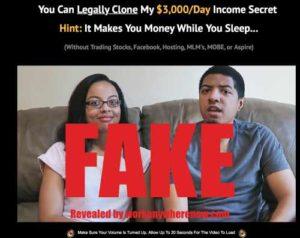 Clone My System Fake Testimonies