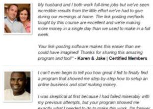 Home Earning System fake testimonies 4
