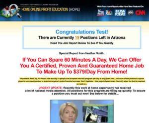 Home Online Profit Education Sales Page