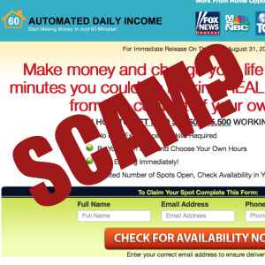 Is Automated Daily Income a scam?