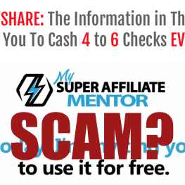 Is My Super Affiliate Mentor A Scam