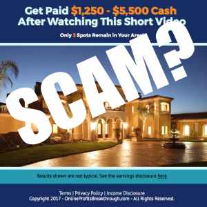 Is Online Profits Breakthrough a scam