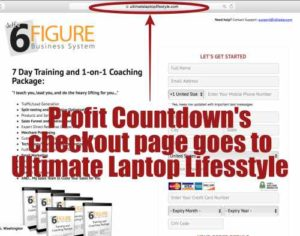 Lifestyle Design International - Profit Countdown's checkout page