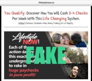 Lifestyle Now FAKE testimonies
