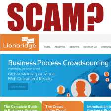 Lionbridge A Work At Home Scam?