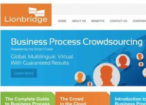 Lionbridge Homepage