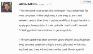 MyPoints Complaints 2