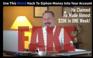 One Click Pay Day Fake Testimony