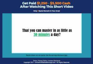 Online Profits Breakthrough 30 mins a day