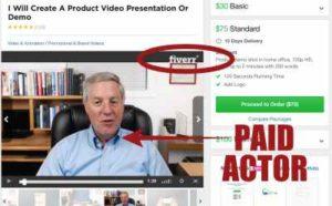 Online Profits Breakthrough Paid Actor