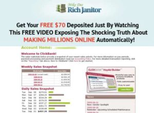 Rich Janitor home page