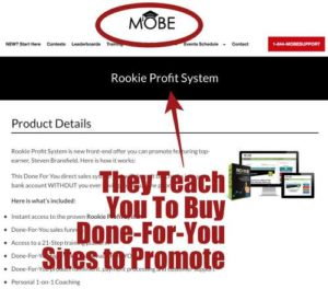 Rookie Profit System Is By Mobe Training
