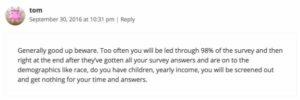 SurveySavvy testimonial 5