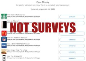 Teens Earn Cash Has No Real Surveys