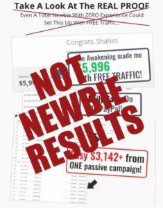 The Awakening Not Newbie Results