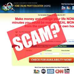 is Home Online Profit Education a scam?