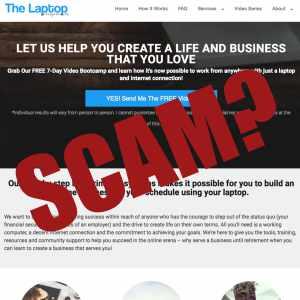 is The Laptop Entrepreneurs a scam