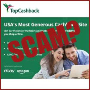 is TopCashback a scam