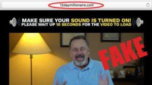 12 Day Millionaire Fake Testimonies