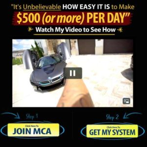 Daily Income Method Sales page