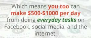 Facebook Cash System Make $500-$1000 from doing things on FB