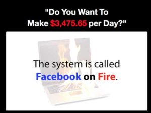 Facebook On Fire Sales Page