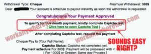 Fix Monthly Income How To Cash Out and Get Paid