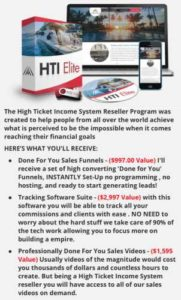 High Ticket Income System Digital Training