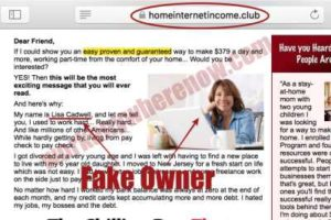 Home Internet Income Club Fake Owner