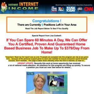 Home Internet Income Club Home Page