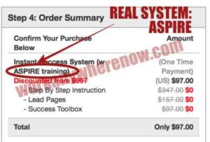 Instant Success System Is Fake, Real System Is Aspire