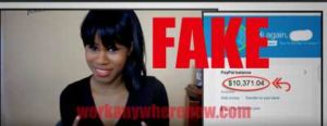 Internet Wealth Biz (Business) Fake Testimonies