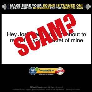 Is 12 Day Millionaire a scam?