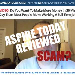 Is Aspire Today A Scam