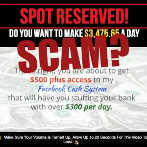 Is Facebook Cash System A Scam