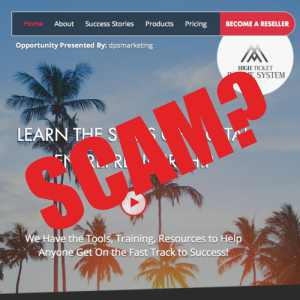 Is High Ticket Income System A Scam?