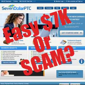 Is Seven Dollar PTC A scam