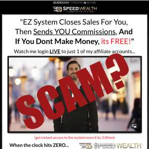 Is Speed Wealth System A Scam