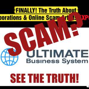 Is The Ultimate Business System A Scam?