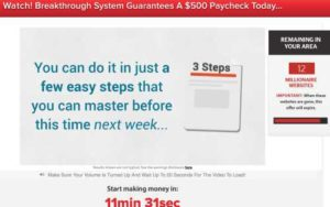 Massive Online Paydays Sales Page