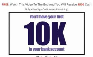 My Online Business $10K in your bank