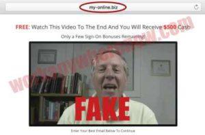 My Online Business Fake Testimonies