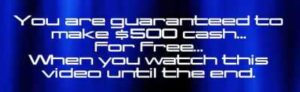 My Online Business Guarantees you $500