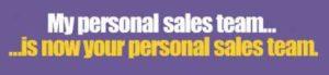 My Online Business free sales team