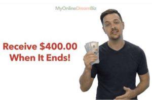 My Online Dream Biz Fake $400