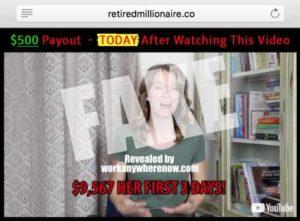 Retired Millionaire Fake Testimony 1