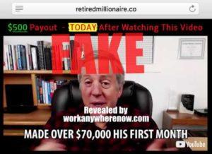 Retired Millionaire Fake Testimony 2