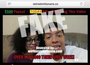 Retired Millionaire Fake Testimony 3